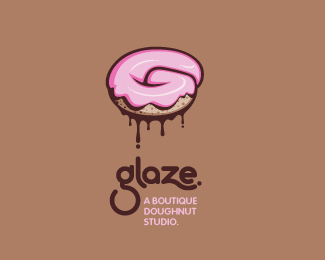A Collection of Delectable Cake Logo Design Concepts