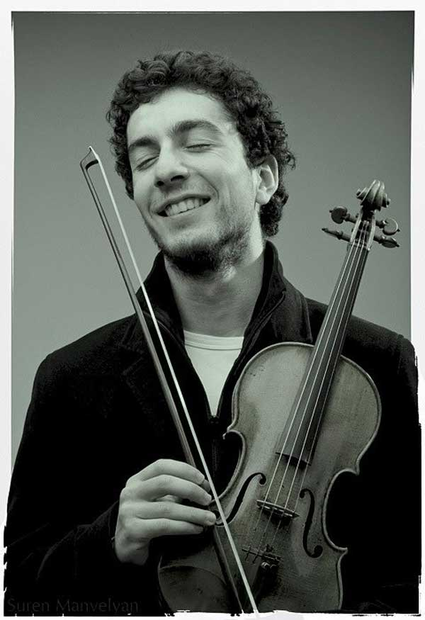 Sergey Khachatryan and his Stradivarius