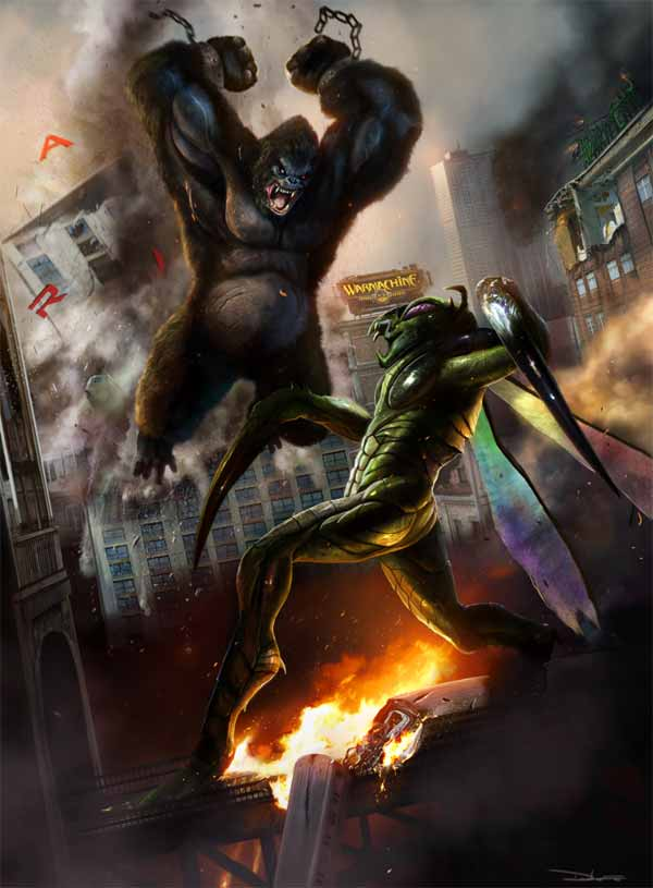 Kong Vs Mantis