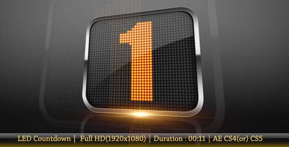 15 countdown after effects project files and templates, Powerpoint templates