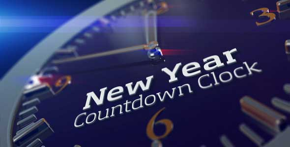 2013 New Year Countdown Clock