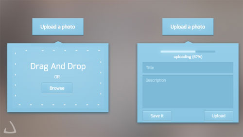 Photo Upload UI