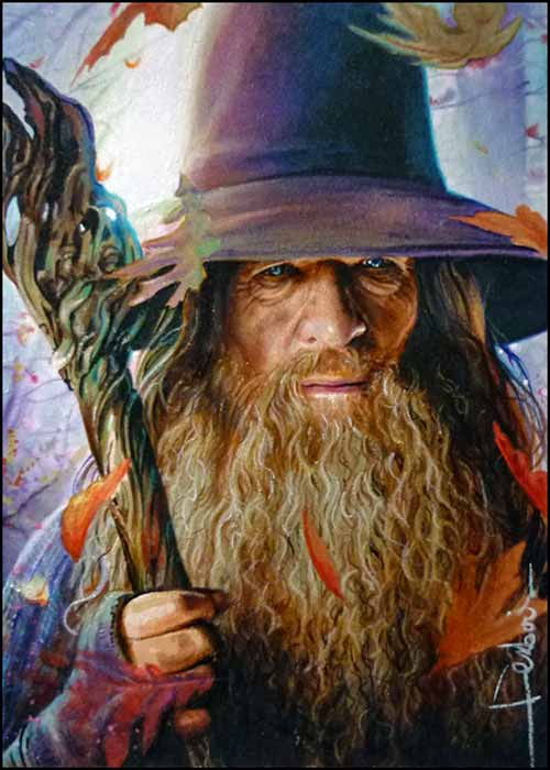Gandalf Illustration