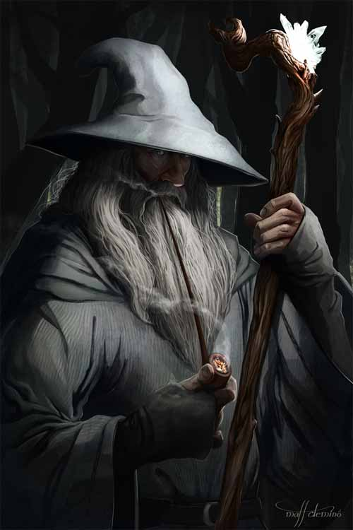 Gandalf the Grey - Figures of Middle Earth