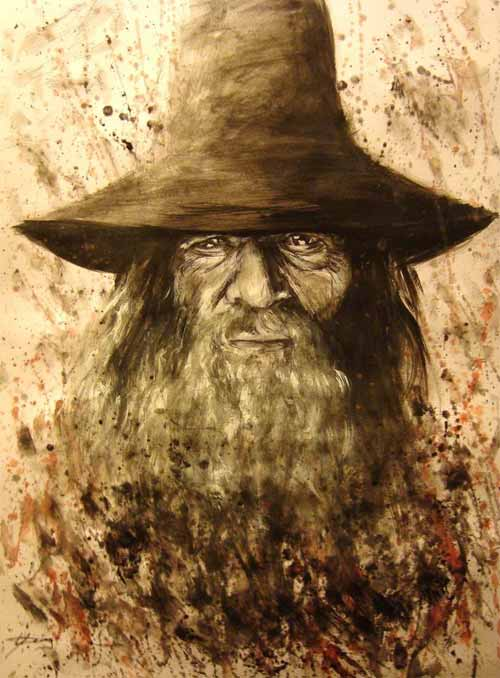 Gandalf Artwork Illustrations