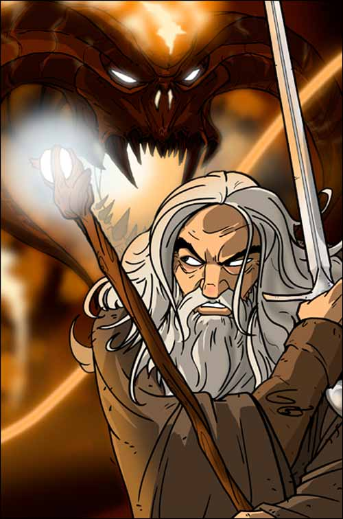 LOTR: Gandalf vs. the Balrog