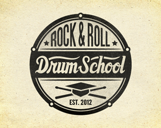 Drum School Logo