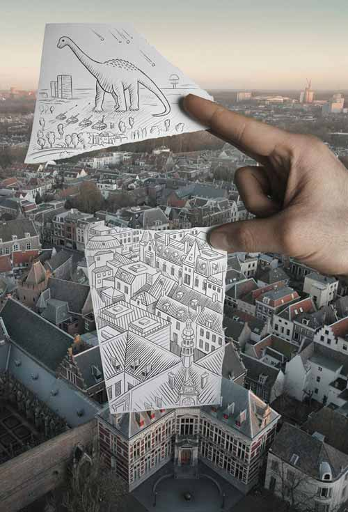 "Incredibly Amazing ""Pencil Vs Camera"" by Ben Heine"