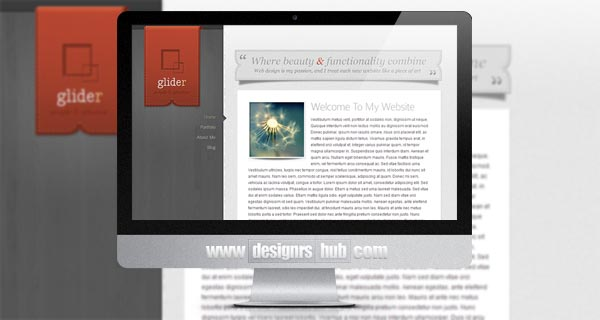 Glider - Personal WordPress Themes