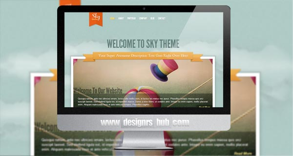 Sky - Personal WordPress Theme