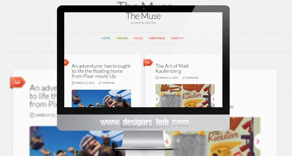 The Muse - Inspiration WordPress Theme