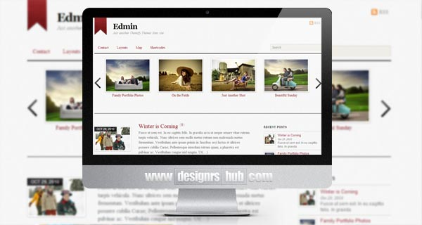 Edmin - Simple Blog Theme