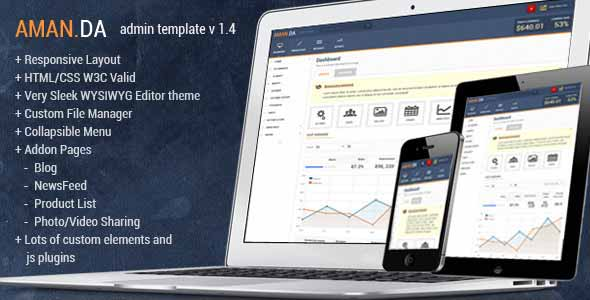 Top-Selling Responsive Admin Templates from ThemeForest