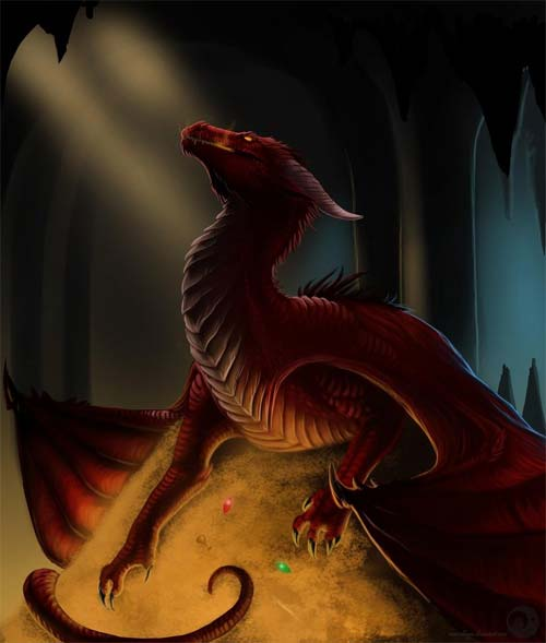 Smaug Illustration