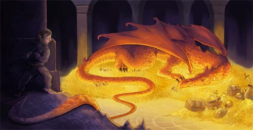 Smaug Illustration Designs