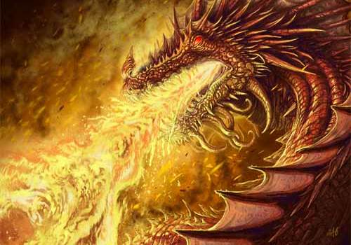 20 Magnificent Dragon Smaug Illustration Designs