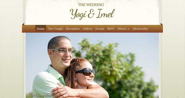 The Wedding - Elegant Wedding WordPress Theme