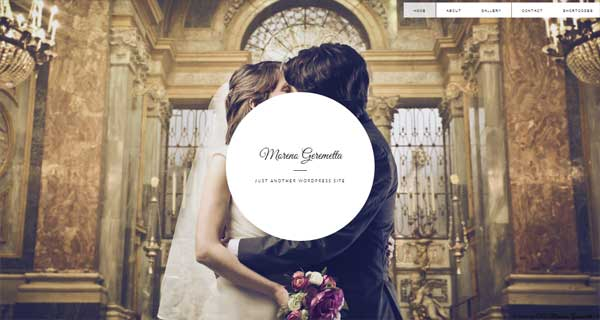 Wordpress Wedding Theme For A Sweet Marriage Proposal