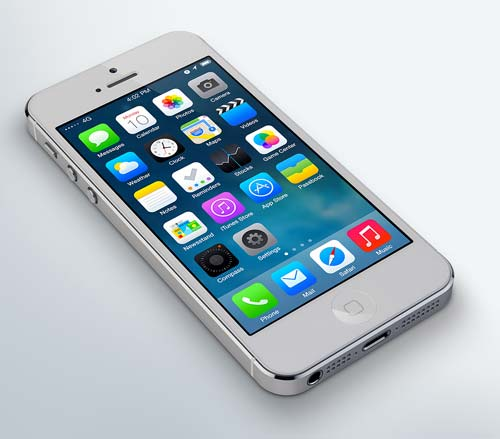 iOS 7 Redesign by by Leo Drapeau