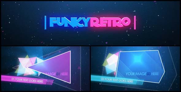 Funky Retro After Effects Templates