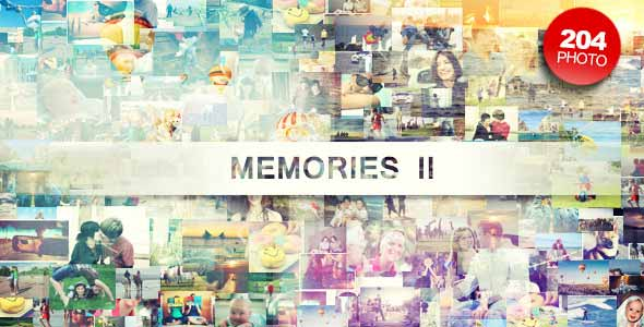 Retro After Effects Templates: Memories