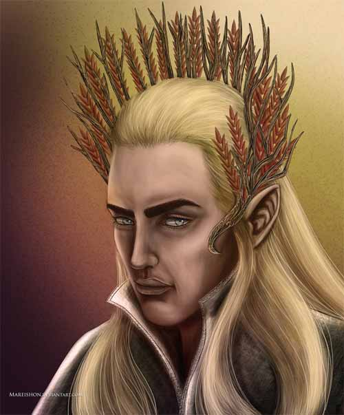 "King Thranduil from ""The Hobbit: An Unexpected Journey"""