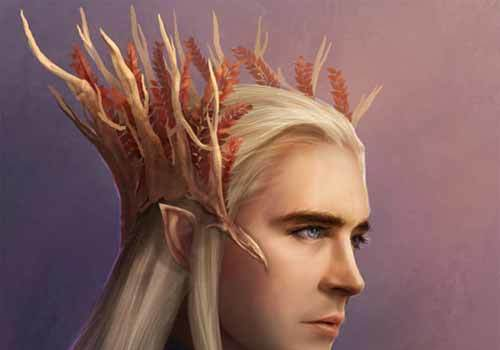 Thranduil aka Elvenking: Amazing Artwork Collection