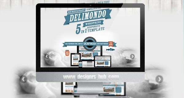 Delimondo Responsive WordPress Theme