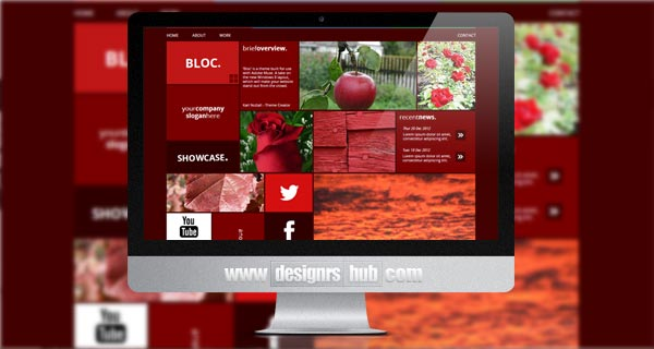 Bloc: Mosaic Muse Template