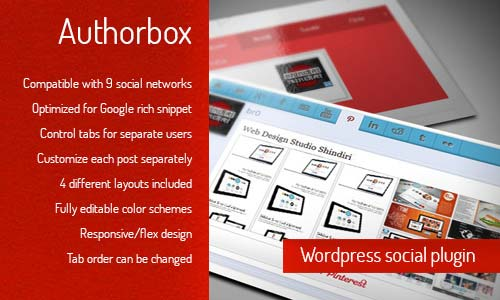 Author Box - WordPress Social / Author Plugin