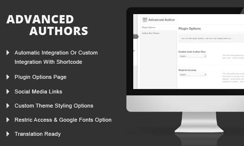 WordPress Advanced Authors