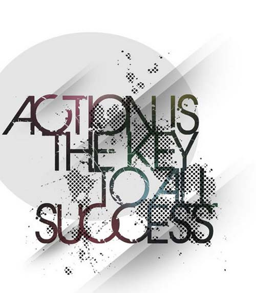 Action is the key to success