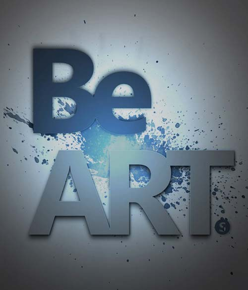 Be an art