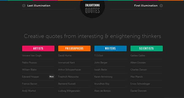 Enlightening Quotes from Interesting and Creative Thinkers