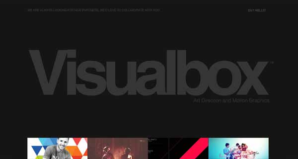 Visualbox: Art Direction and Motion Graphics