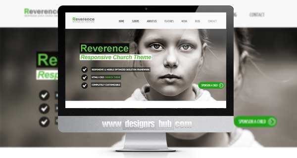 Reverence - Church Responsive WordPress HTML 5 Theme