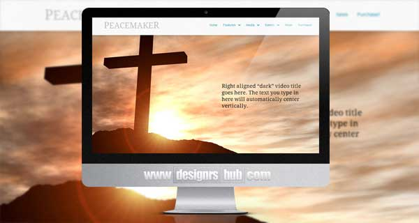 Peacemaker - The WordPress Theme for Churches