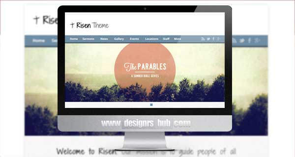 Risen - Church WordPress Themes (Responsive)