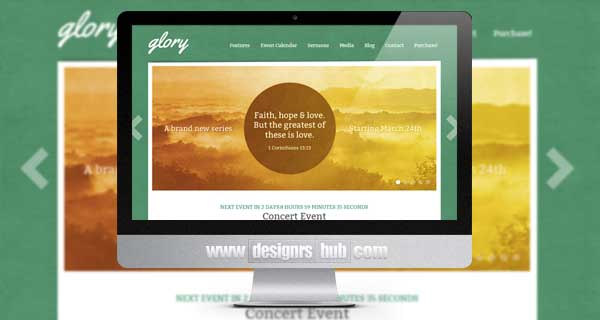 Glory - The WordPress Theme for Churches
