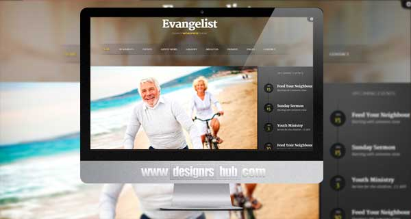 Evangelist - WordPress Church Theme