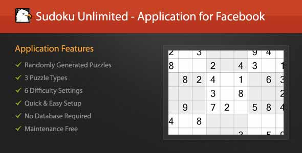 Sudoku Unlimited - Application for Facebook