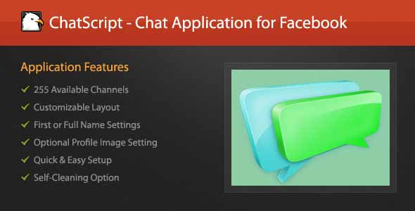 ChatScript - Chat Application for Facebook