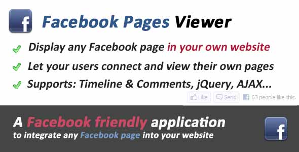 Facebook Pages Viewer