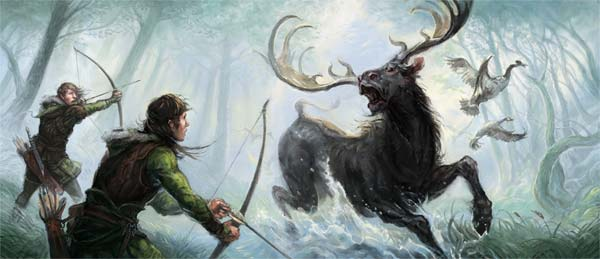 Hunting in Mirkwood