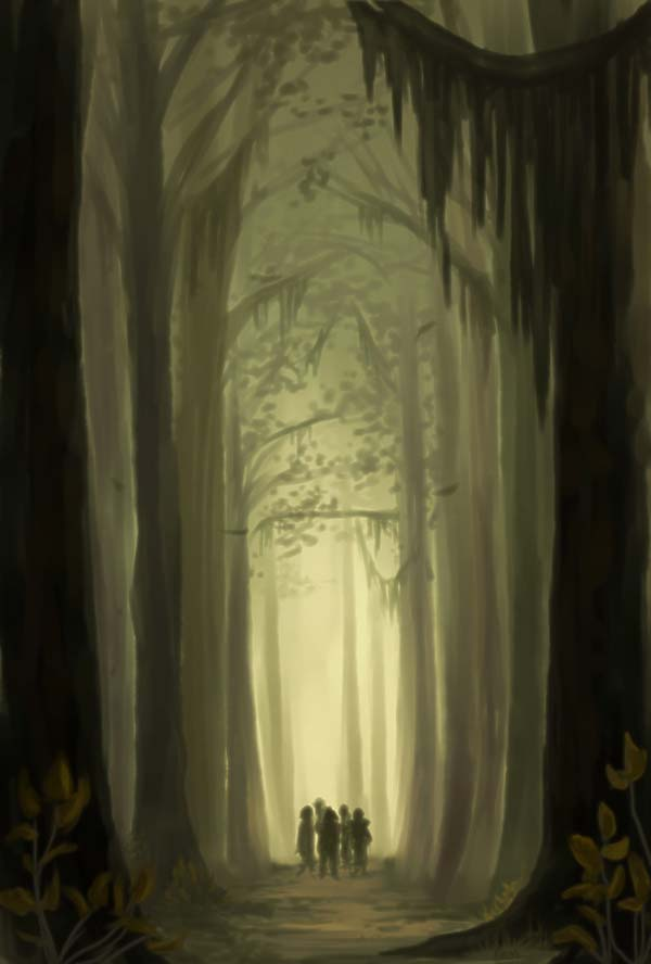 Entering Mirkwood