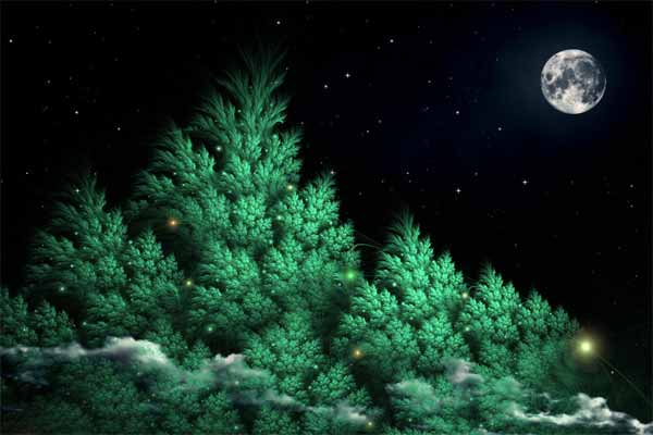 The Moon over Mirkwood