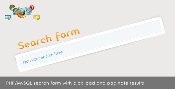 Ajax Search Form