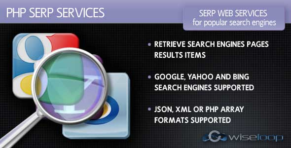 PHP SERP Services