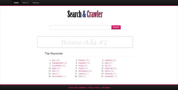 Search Engine & Crawler