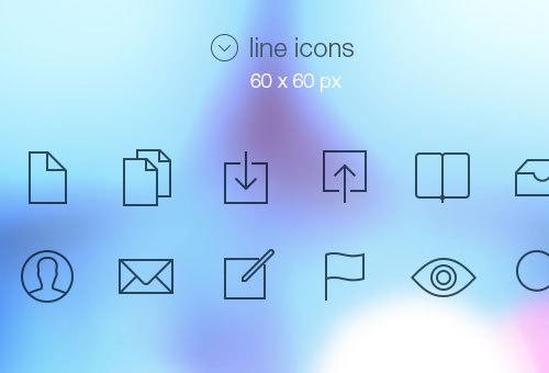 Free Tab Bar Icons iOS 7